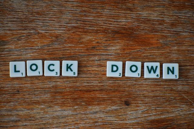 Beim Lockdowns um den Fokus auf sich zu richten